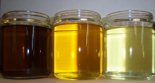 Various processing that denaturates natural oil